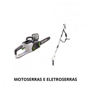 Motoserras e Eletroserras
