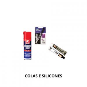 Colas e Silicones
